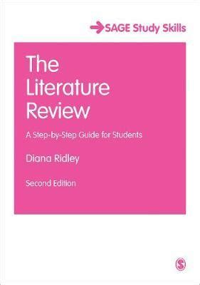 LibGuides: Literature Review: Conducting & Writing: Sample