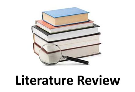 Writing a literature review university of Canberra